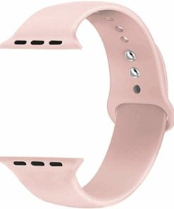 Jump Start Straper for Apple Watch Strap 40mm Soft Silicone Watch Band Wristbands for iWatch Series 4 Nike Sports and Edition