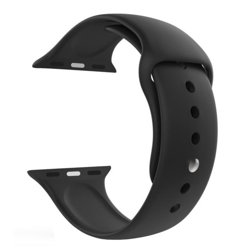Jump Start Sport Band Compatible for Apple Watch 38mm, Soft Silicone Sport Strap Bands